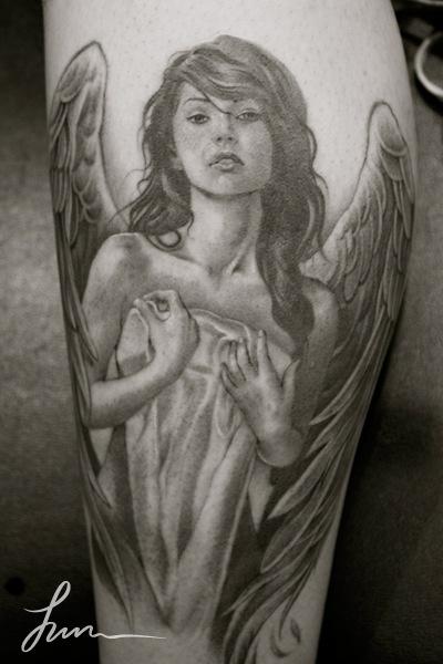 Tatuagens de Anjos 46