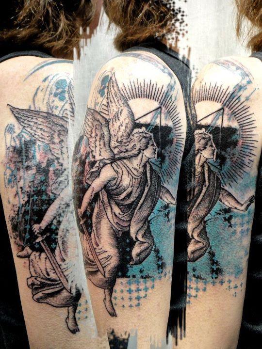 Tatuagens de Anjos 49