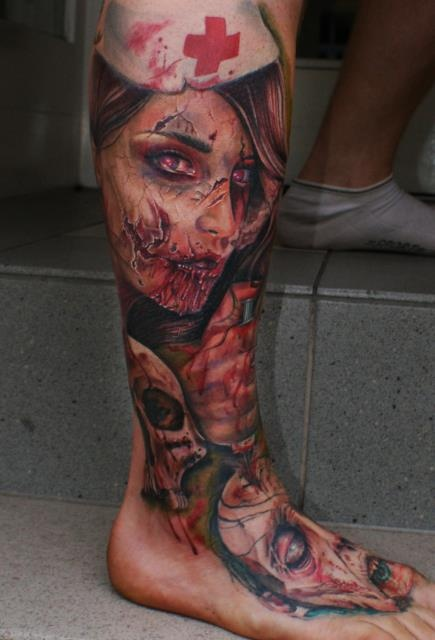 Tatuagens de Zumbis 01