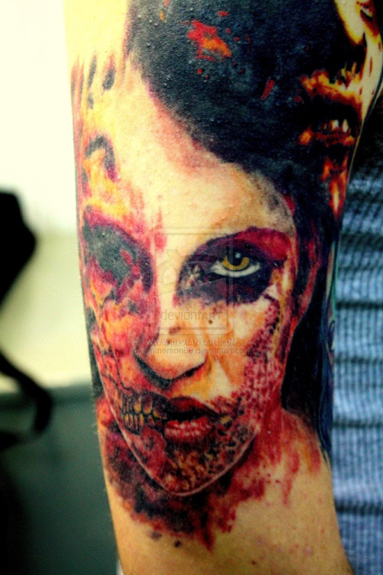 Tatuagens de Zumbis 02