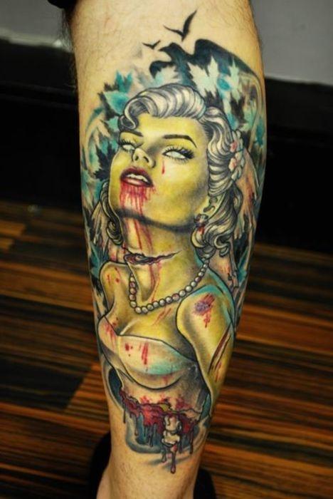 Tatuagens de Zumbis 05