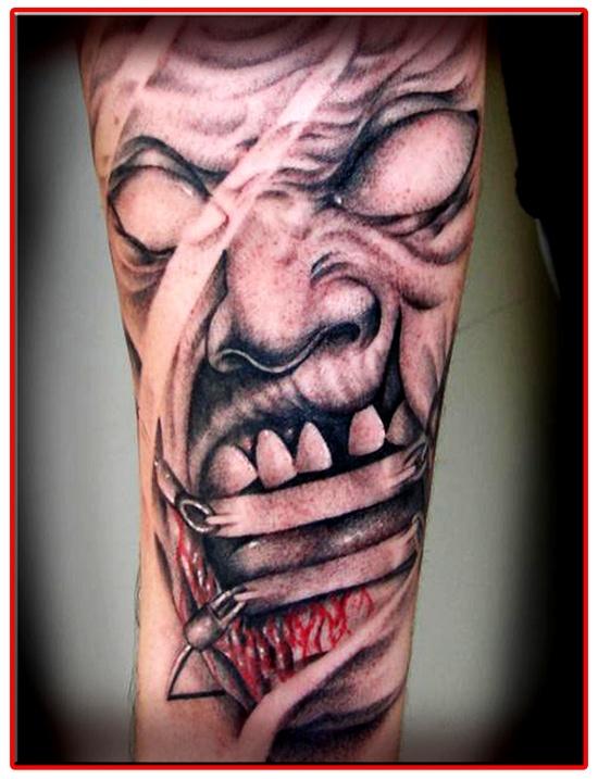 Tatuagens de Zumbis 06