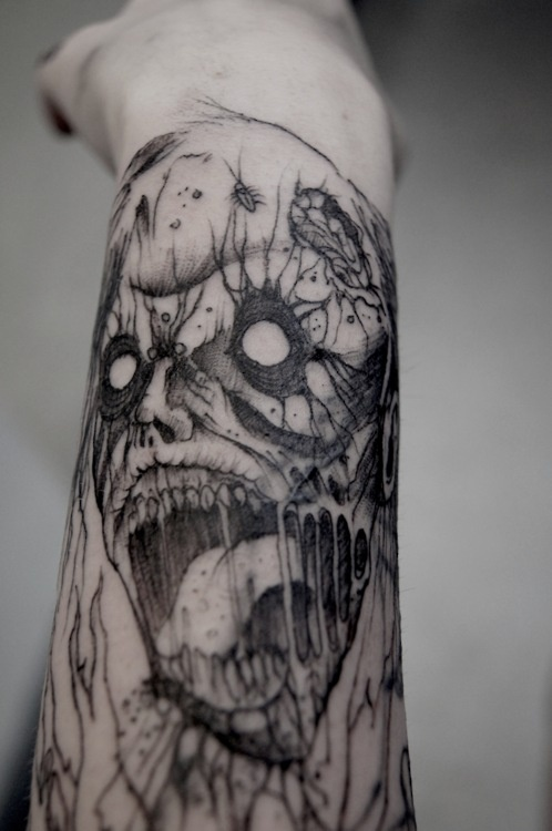 Tatuagens de Zumbis 07
