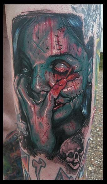 Tatuagens de Zumbis 08