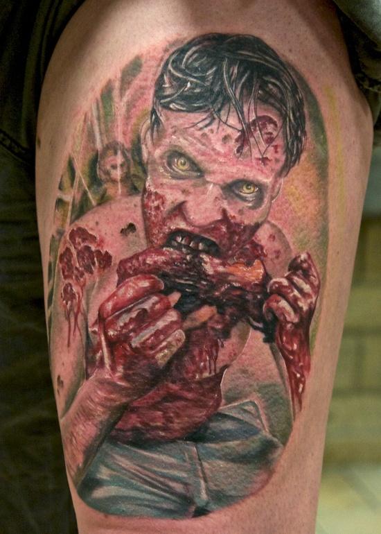Tatuagens de Zumbis 09
