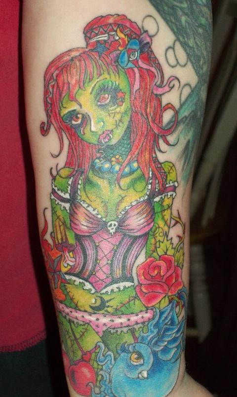 Tatuagens de Zumbis 13