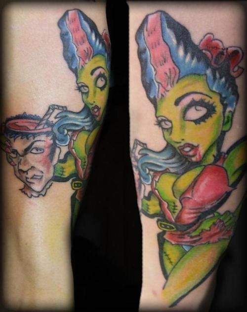Tatuagens de Zumbis 14
