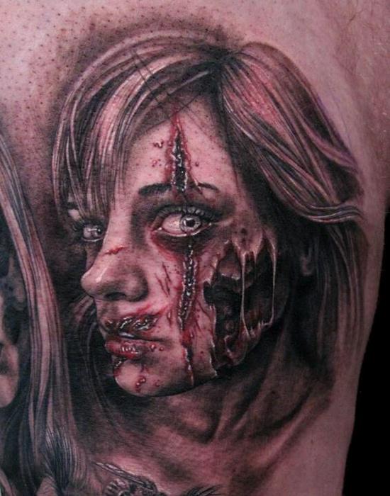 Tatuagens de Zumbis 17