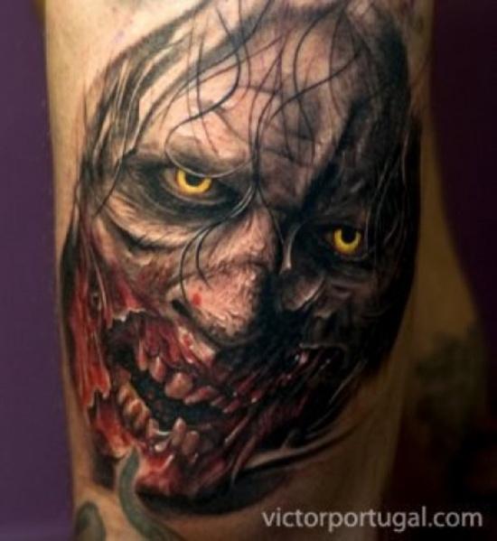 Tatuagens de Zumbis 19
