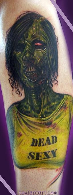 Tatuagens de Zumbis 21