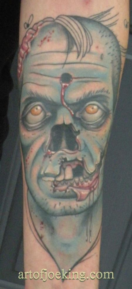 Tatuagens de Zumbis 24