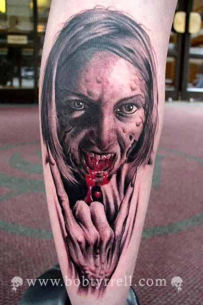 Tatuagens de Zumbis 26