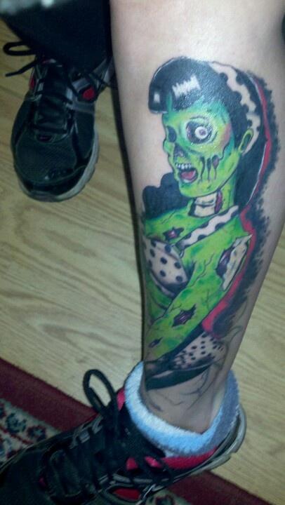 Tatuagens de Zumbis 28