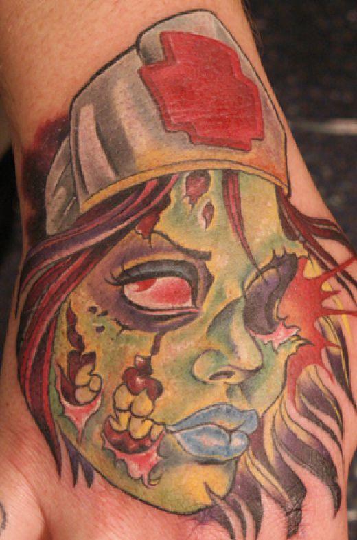 Tatuagens de Zumbis 29