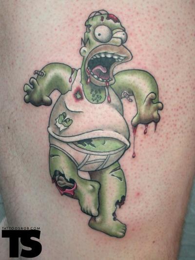 Tatuagens de Zumbis 30