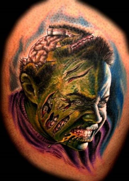 Tatuagens de Zumbis 31