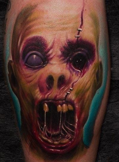Tatuagens de Zumbis 32