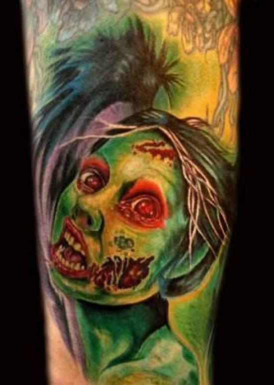 Tatuagens de Zumbis 33