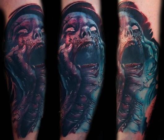 Tatuagens de Zumbis 38