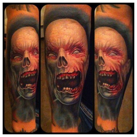 Tatuagens de Zumbis 39