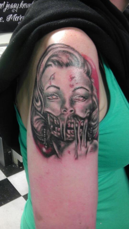 Tatuagens de Zumbis 40