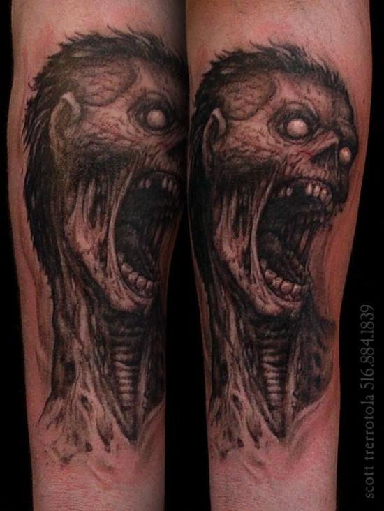 Tatuagens de Zumbis 43