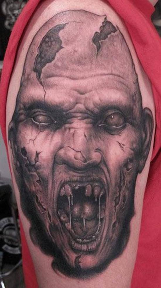 Tatuagens de Zumbis 46