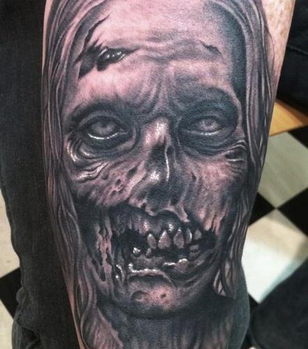 Tatuagens de Zumbis 47
