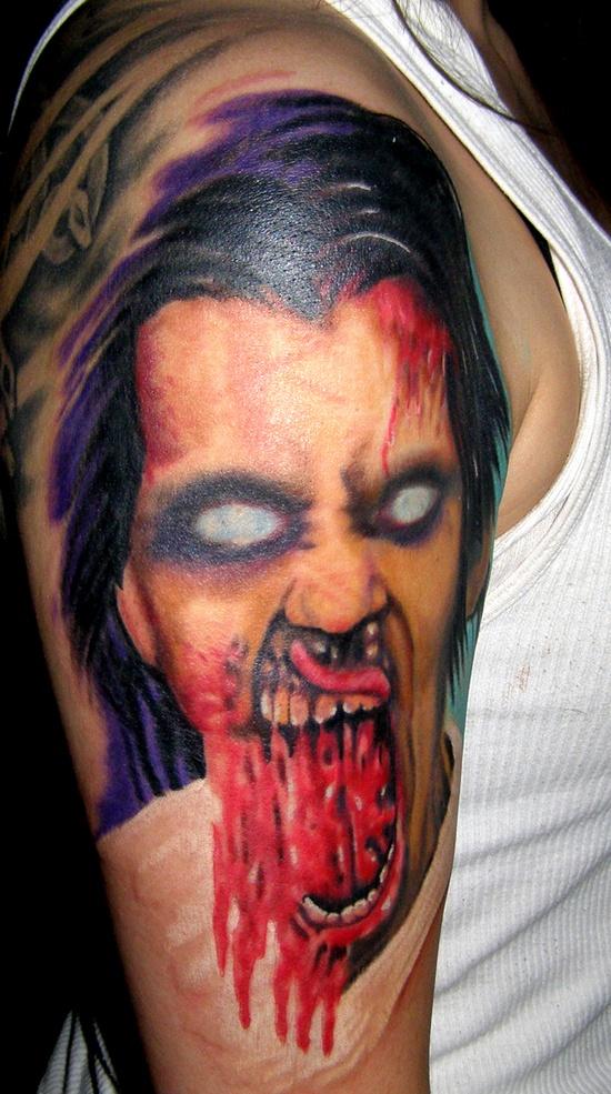 Tatuagens de Zumbis 49