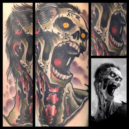 Tatuagens de Zumbis 54