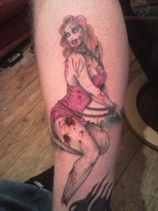 Tatuagens de Zumbis 55