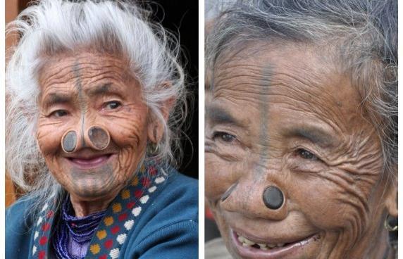 As mulheres da tribo Apatani 41