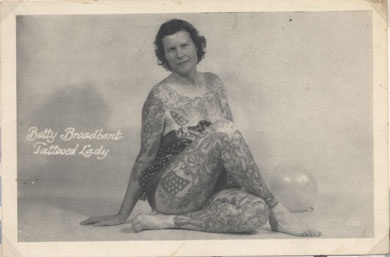 Damas tatuadas Betty Broadbent 15