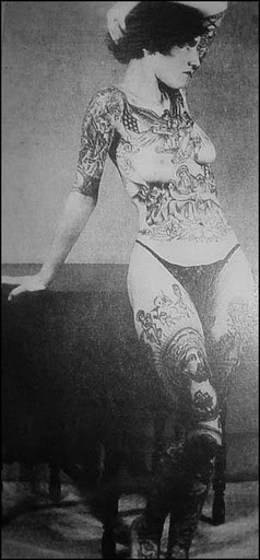 Damas tatuadas Jean Carroll 03