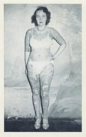 Damas tatuadas Jean Carroll 04