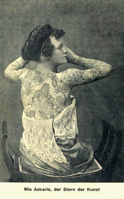 Damas tatuadas Nora Hildebrandt 04