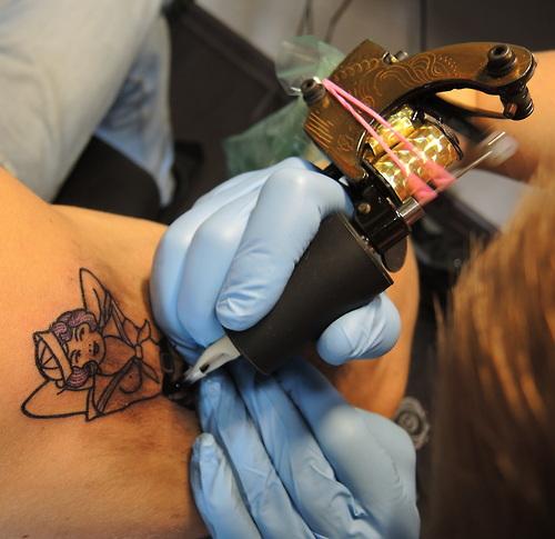 Fotos de tatuagens tiradas de perto 05