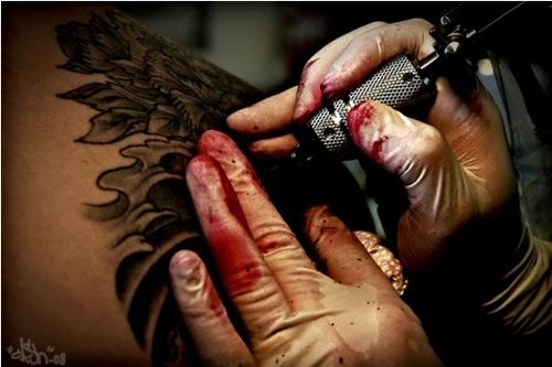 Fotos de tatuagens tiradas de perto 15
