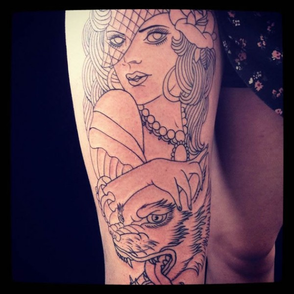 Madhava Tattoo 3
