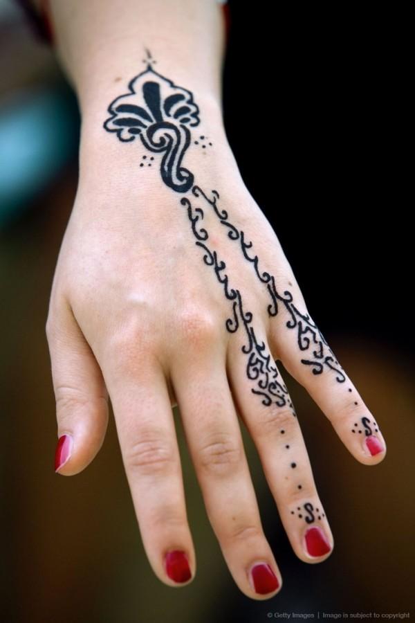 O que e tatuagem de Henna 04