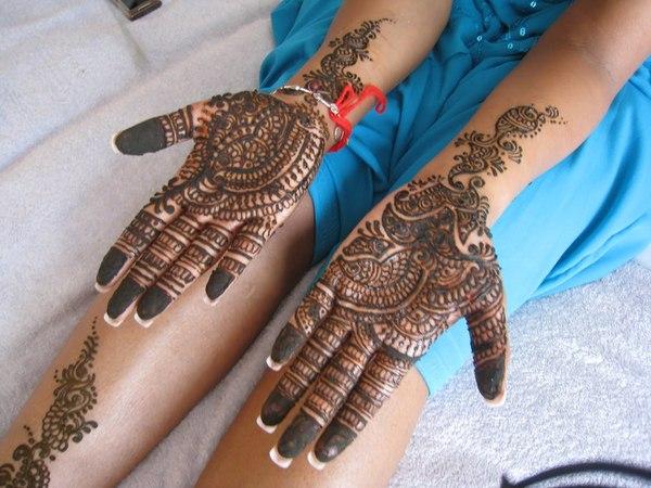O que e tatuagem de Henna 10