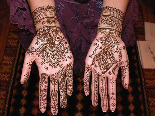 O que e tatuagem de Henna 11