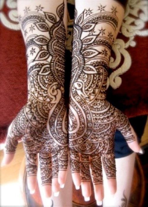 O que e tatuagem de Henna 18