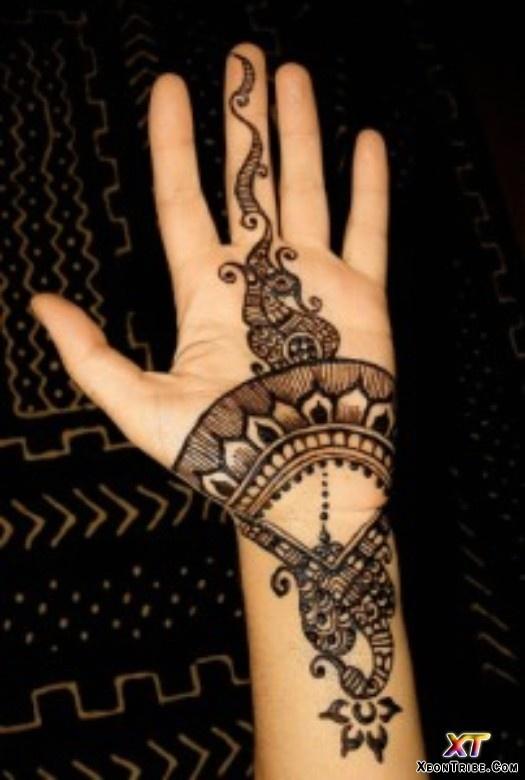 O que e tatuagem de Henna 19