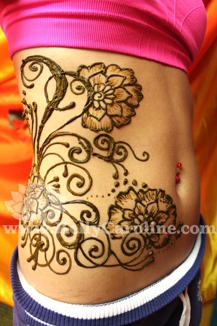 O que e tatuagem de Henna 20