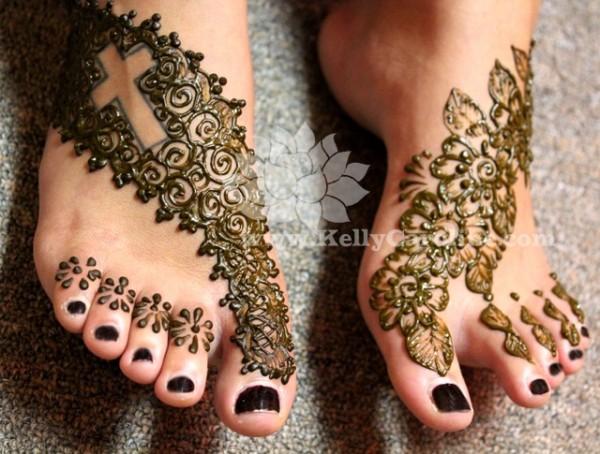 O que e tatuagem de Henna 22