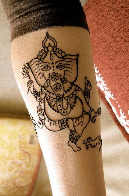 O que e tatuagem de Henna 23