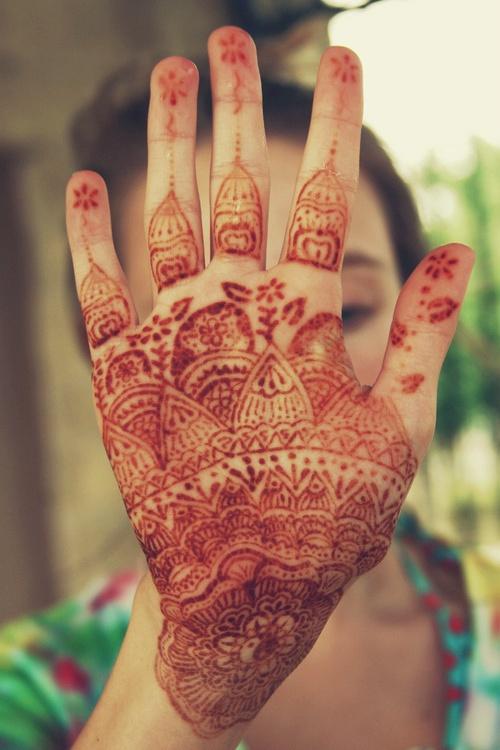 O que e tatuagem de Henna 24