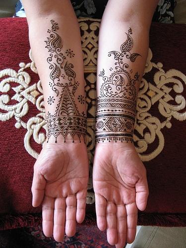 O que e tatuagem de Henna 25