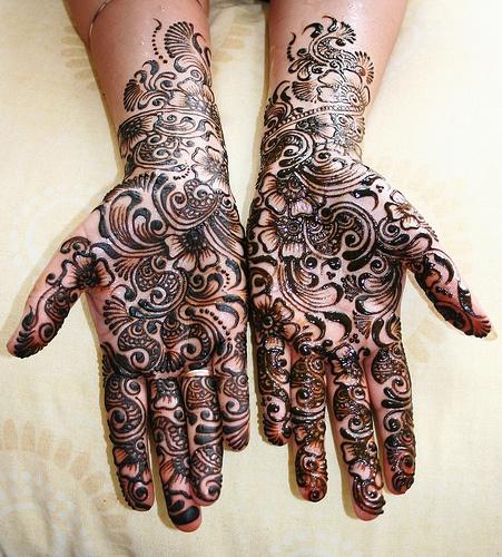 O que e tatuagem de Henna 35